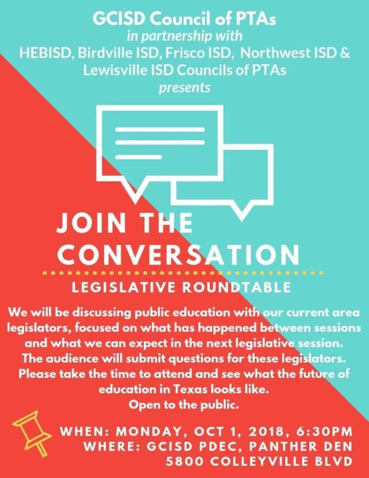 2018 Legislative Roundtable